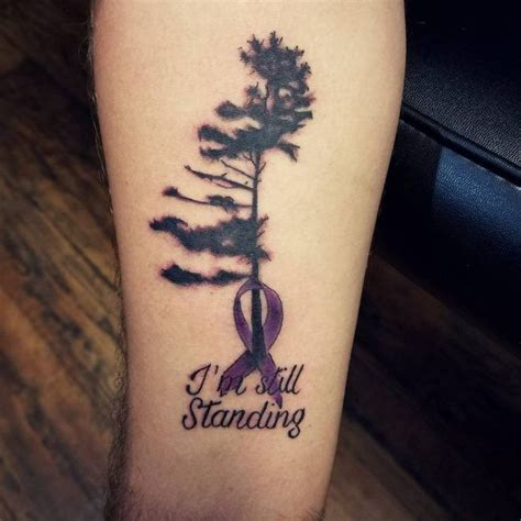 45 supportive cancer ribbon tattoo designs not just for