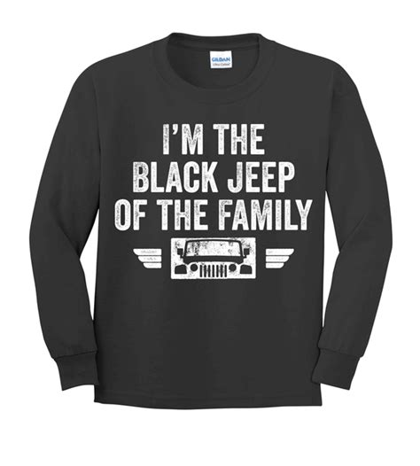 Tshirt Jeep Black all things jeep black jeep of the family youth