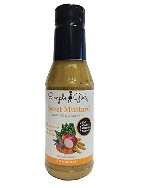 Mustard L Simple Sweet Mustard Salad Dressing Sugar Free