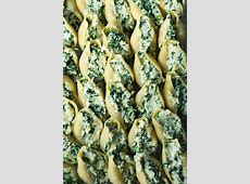 Stuffed Shells Recipe (Spinach and Cheese) - Cooking Classy Jumbo Shells
