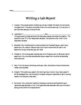 writing lab reports and scientific papers 1 writing lab reports and scientific papers top quality