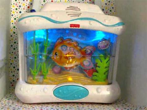 Crib Aquarium With Remote by Fisher Price Wonders Aquarium Crib Soother Remote