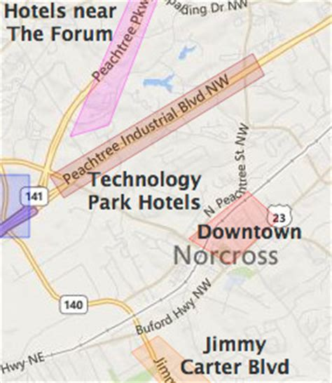 map of norcross norcross ga hotels motels see all discounts