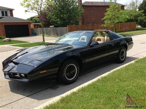 84 Monte Carlo Ss Interior 1984 Pontiac Firebird Trans Am Knight Rider K I T T Replica