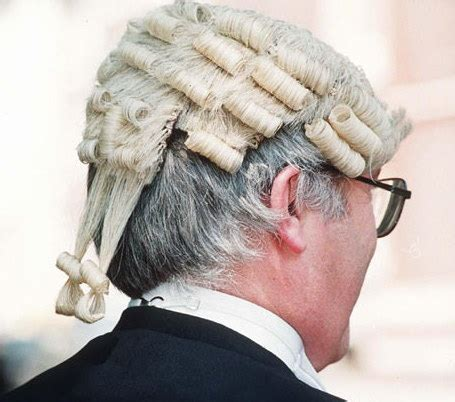 hair for attorneys how often are barrister s wigs washed