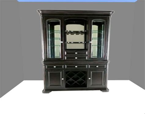 black china hutch cabinet second life marketplace black china cabinet