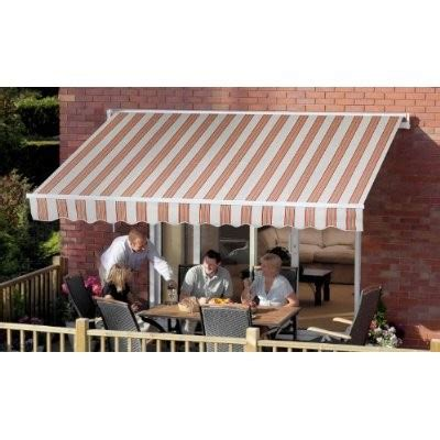 wall mounted retractable awning 8 2 quot x 6 7 quot ft 2 5 x 2m easy fit retractable garden