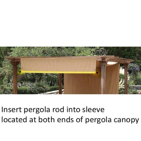 Garden Winds Weight Rods For Pergola Canopy Lawn Patio Garden Winds Pergola
