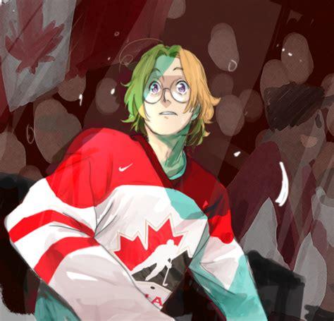 Kaos Anime Canada Knows Hockey hockey player readerxcanada by italy pastalove on deviantart
