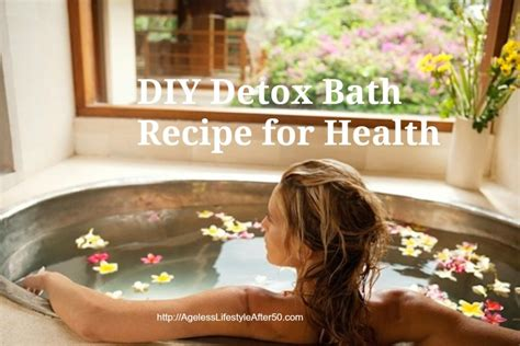 Rinse After Detox Bath by Diy Detox Bath Recipe For Health Ageless