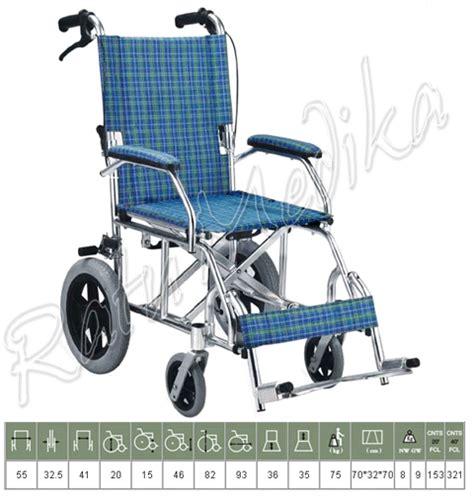 kursi roda traveling avico ringkas ringan kursi roda travelling kecil 863labj toko jual kursi roda