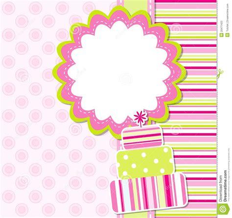 template birthday card illustrator template greeting card stock photos image 20471423