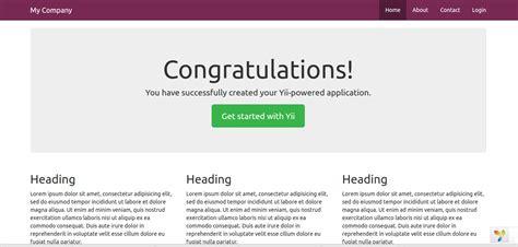 yii2 template tutorial menambahkan template theme lain ke framework yii2 basic