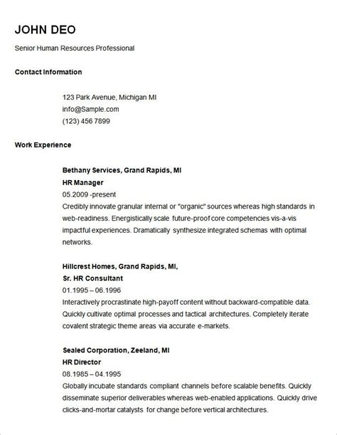 best ideas of examples of resumes resume simple objective inside