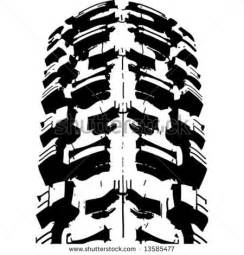 Dirt Bike Tires Clipart 6 Motorcycle Tire Vector Images Tire Tracks Clip