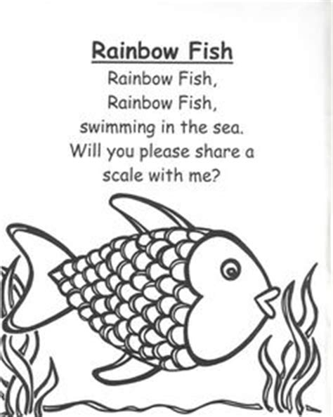 2fish a poetry book books 1000 ideas about rainbow fish activities on