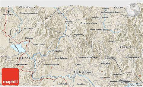 san jose honduras map shaded relief 3d map of san jos 233 de jocot 225 n