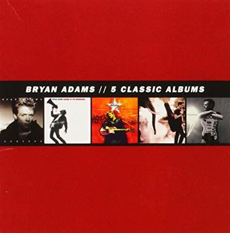 Dijamin Bryan 5 Classic Albums Cd Boxset 5 classic albums 5 cd import it all