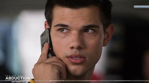 abduction l abduction lautner talking on phone closeup wallpaper