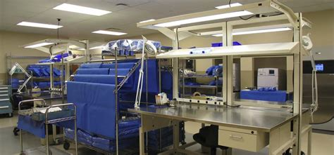 Central Supply Room by Community Hospital Perioperative Central Sterile