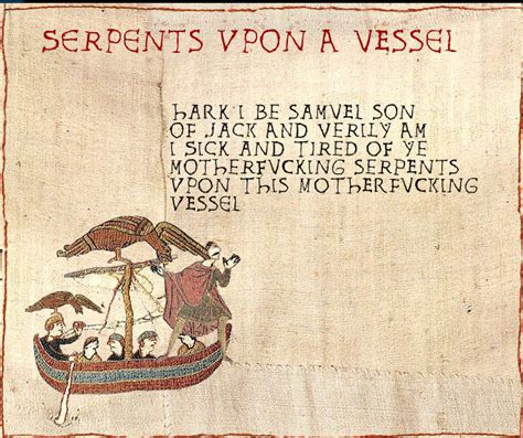 Bayeux Tapestry Meme - image 19696 medieval macros bayeux tapestry