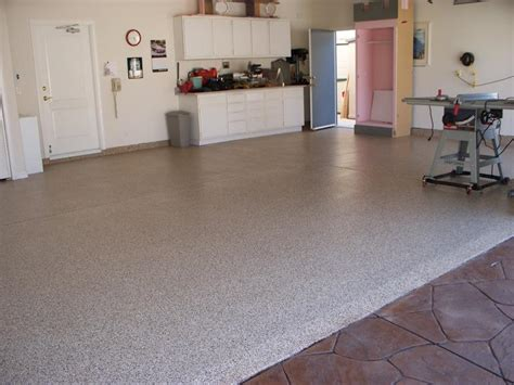 custom epoxy garage floors