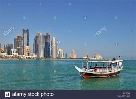 buy a boat qatar dhow boat off the doha corniche doha qatar united arab