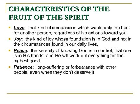 9 fruits of the spirit the fruits and gifts of the holy spirit