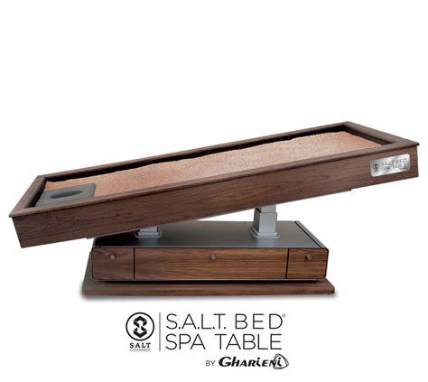 what s a salt l s a l t bed 174 spa table salt chamber
