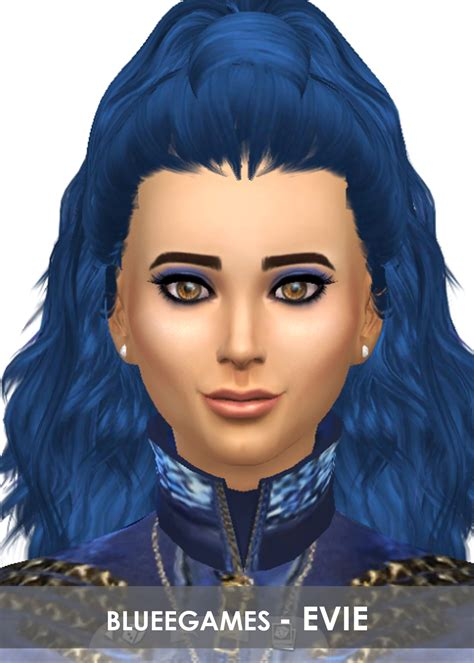 Evie The by Descendants Evie Disney Sim Blueegames