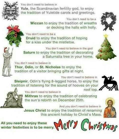 why atheists can celebrate christmas