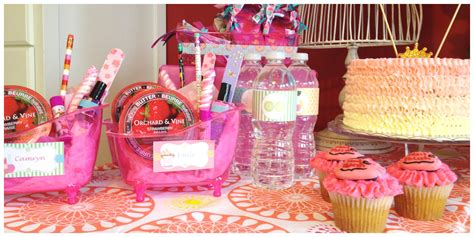 party ideas home kids spa party home party ideas