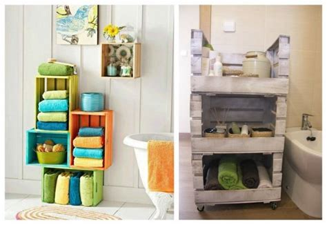 Papel Decorativo Para Pared #9: Decorar-con-cajas-de-madera-pintadas-03.jpg