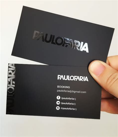 free front back business card in mockup mockup