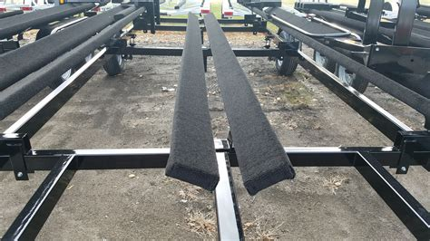 boat trailer guide system pontoon boat trailers marine master trailers