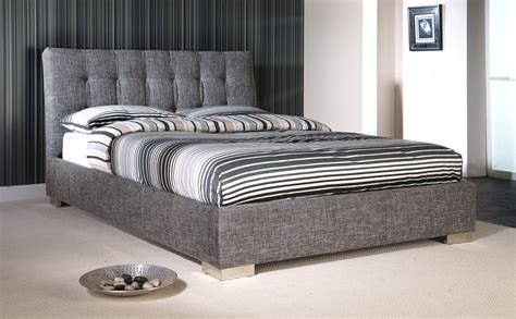 grey king bed ophelia grey fabric king size bed only 163 339 99 furniture