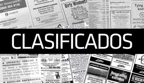 anuncios y clasificados clasificados empleos autos clasificados en peri 243 dicos en v 237 a de extinci 243 n
