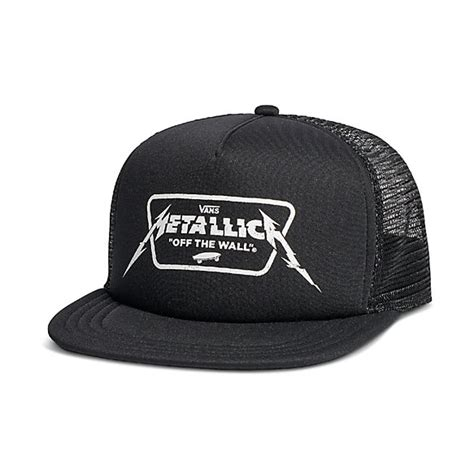Vans X Metalica vans x metallica trucker hat shop mens hats at vans