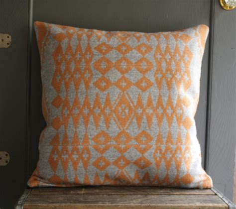Pendleton Wool Pillows by Handmade Pendleton Wool Pillow Cover By Byrd