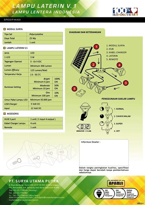 Kalkulator Office 10 Digit Energi Tenaga Solar Surya lu laterin v 1a pt surya utama putra
