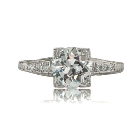 Deco Engagement Rings by Deco Engagement Ring Circa 1920