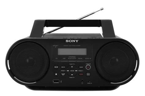 Compo Siny Boombox Zs Rs60bt Cd Mp3 Usb Bluetooth radios et lecteurs cd portables sony boombox cd avec bluetooth zs rs60bt pas cher promo sn