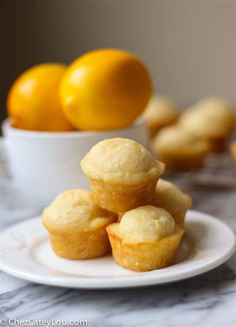 meyer lemon meyer lemon mini muffins chez cateylou