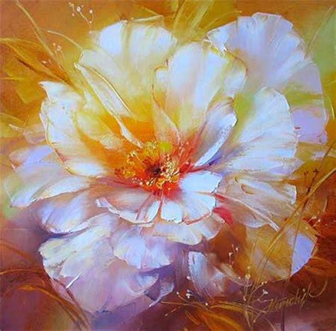 imagenes flores al oleo imagenes al oleo de flores imagui