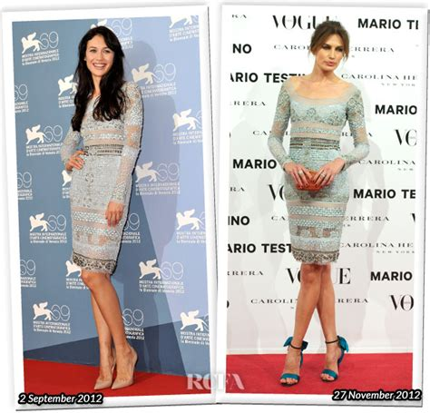 Who Wore Pucci Better who wore emilio pucci better olga kurylenko or nieves
