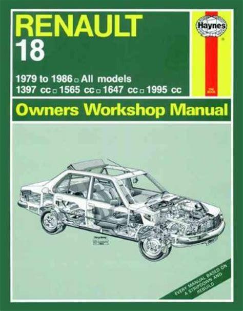 service manual books about how cars work 1979 chevrolet renault 18 1979 1986 haynes service repair manual sagin workshop car manuals repair books