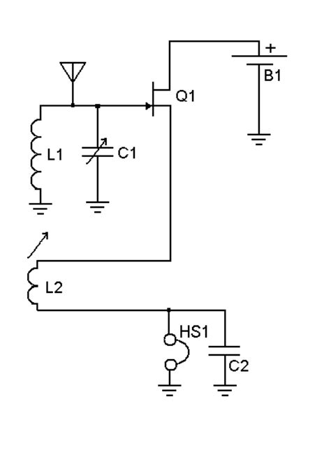 bipolar transistor regenerative receiver almost a set