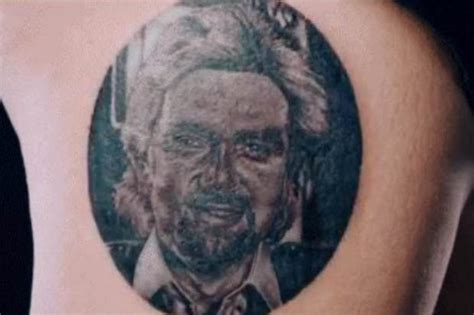 tattoo fixers bad tattoo fixers megafan gets noel edmonds inked on her thigh