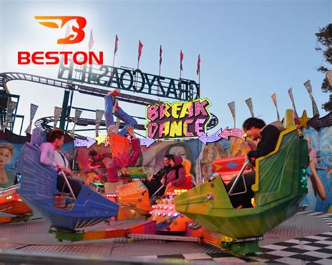 theme park ride breaks break dance ride for sale beston amusement equipment co