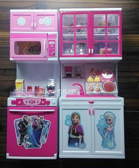 Kitchen Frozen Set 2016 frozen elsa doll kitchen set 34 26 9 5cm 2015 new modern kitchen figure for